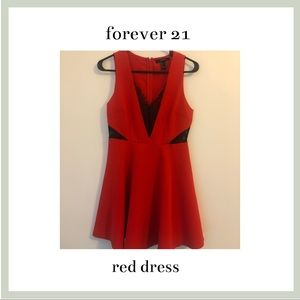 Red dress - perfect for Christmas parties